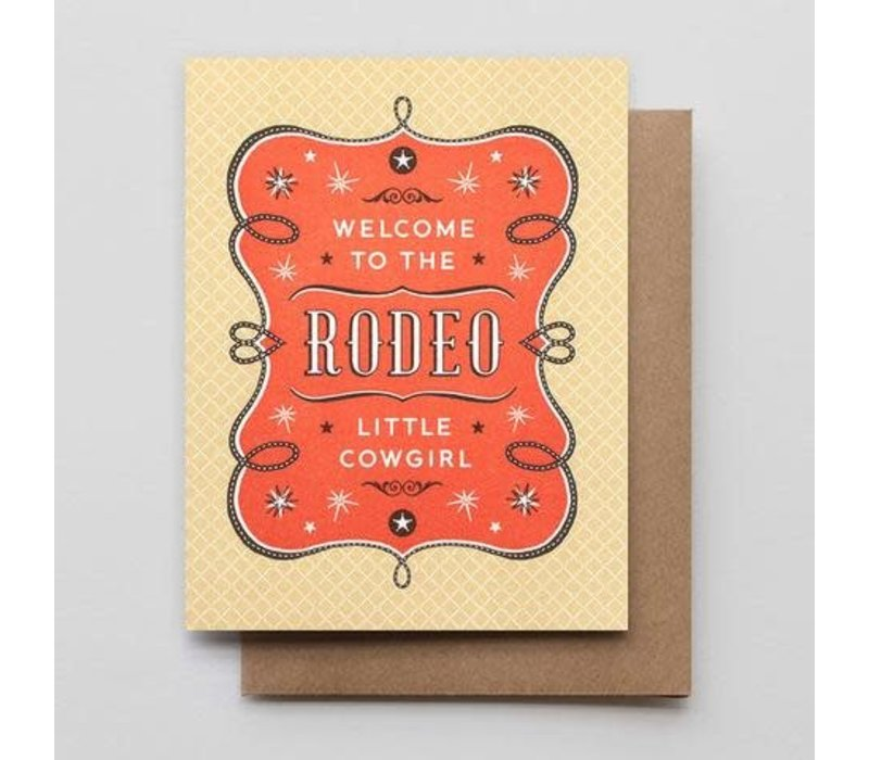 Welcome to The Rodeo Cowgirl Card