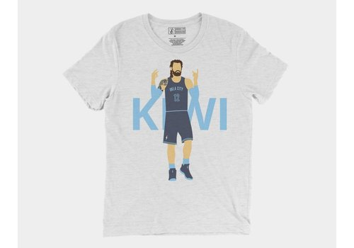 Shop Good Thunder Icon Kiwi Tee White Fleck Triblend