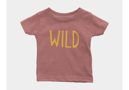 Shop Good Wild Kids Tee Mauve Triblend