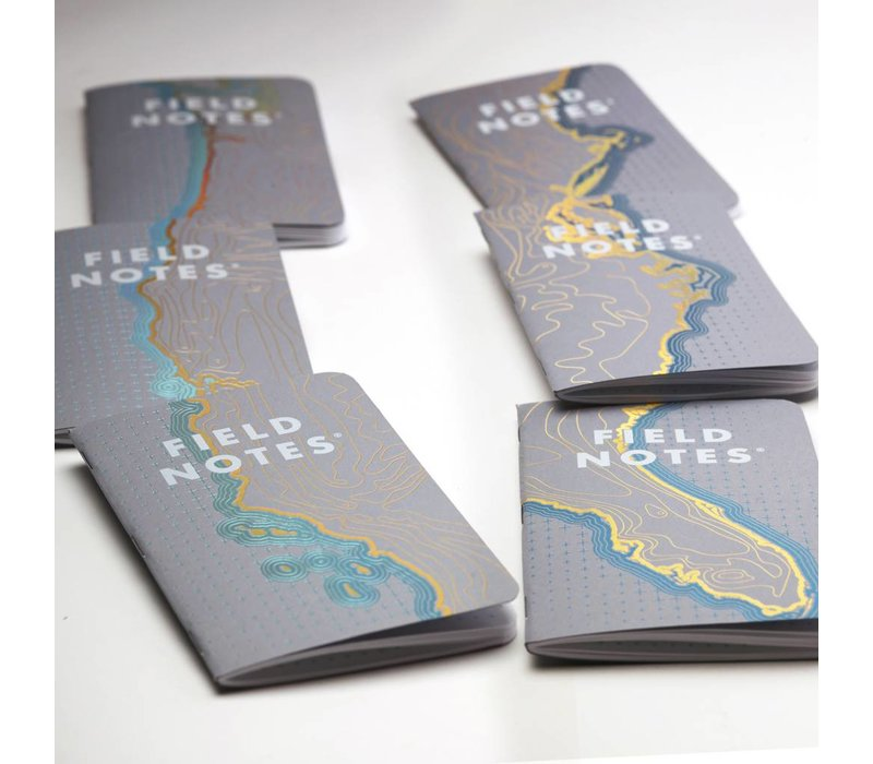 Field Notes - Coastal: West 3-Pack