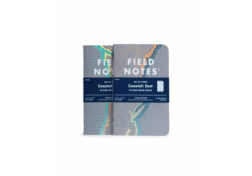 Field Notes Field Notes - Coastal: West 3-Pack