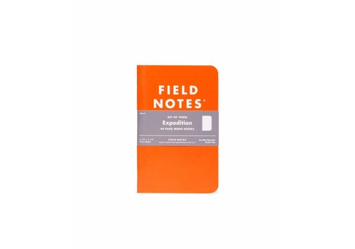 Field Notes Field Notes - Expedition Waterproof 3-Pack