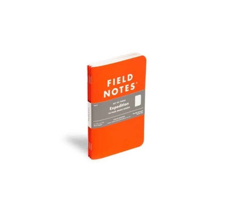 Field Notes - Expedition Waterproof 3-Pack
