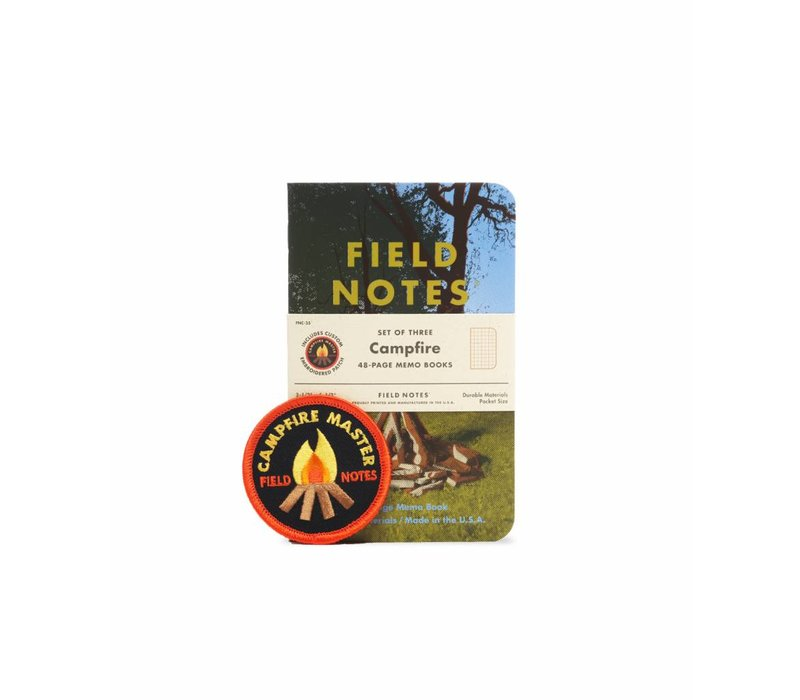 Field Notes - Campfire 3-Pack