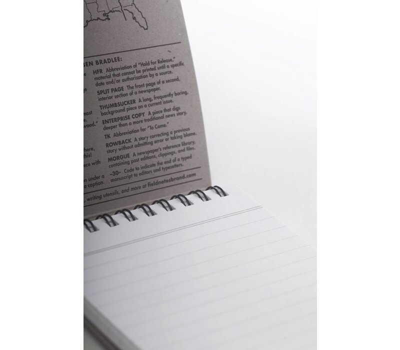 Field Notes - Front Page Reporter's Note Book 2-pack