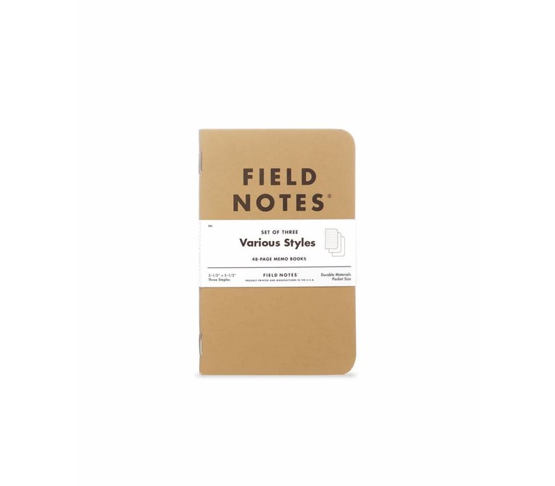 Field Notes - Original 3-Pack