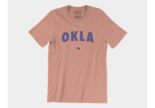 Shop Good OKLA Tee Heather Sunset