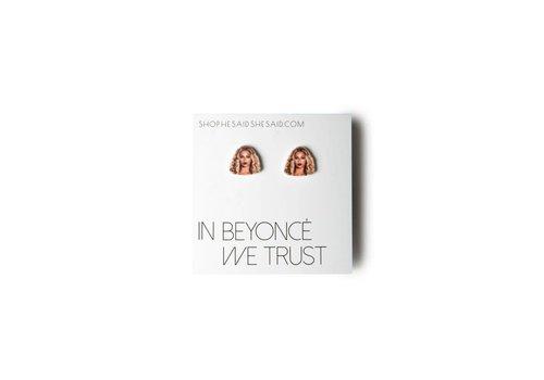 He Said, She Said Beyonce Earrings