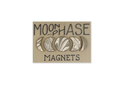 Savvie Studio Moon Phase Magnets Set