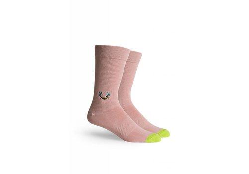 Richer Poorer Banana Crew Socks