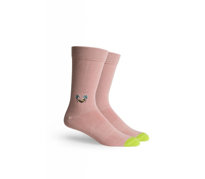 Banana Crew Socks