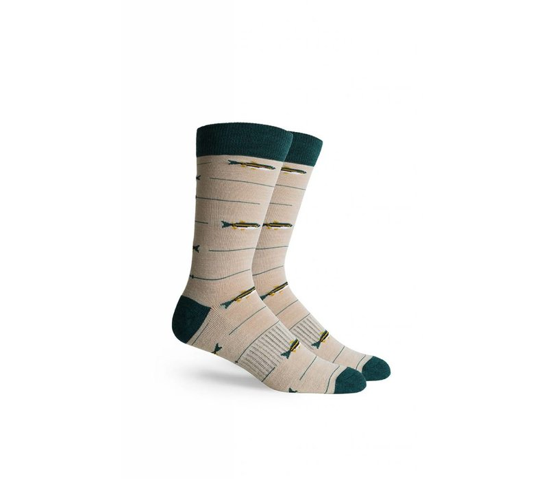 Angler Crew Socks