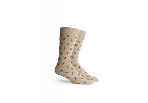 Richer Poorer Pineapple Crew Socks