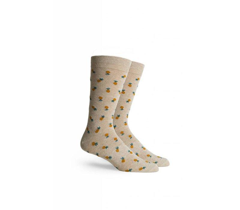 Pineapple Crew Socks
