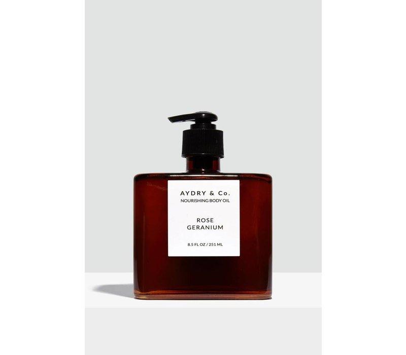 Rose Geranium Nourishing Body Oil