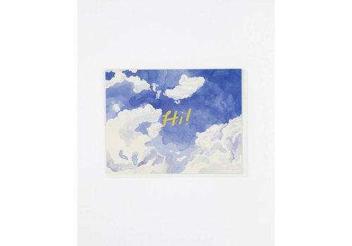Small Adventure Hi Skywriting Card