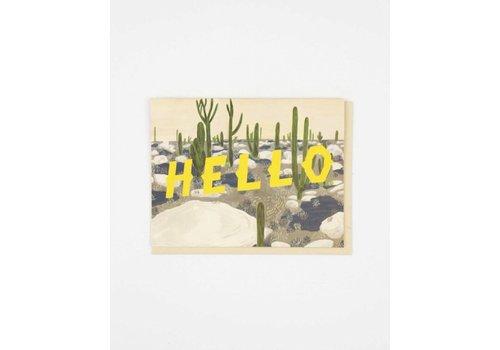 Small Adventure Hello Desert Card