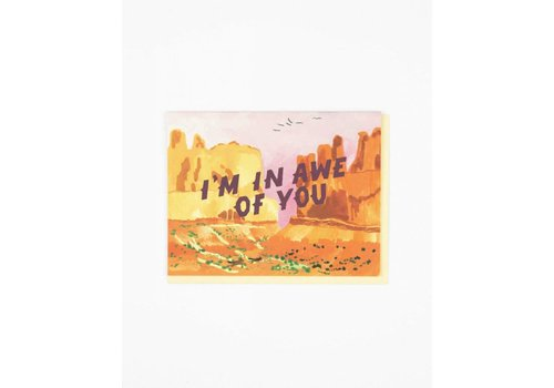 Small Adventure In Awe Of You Card