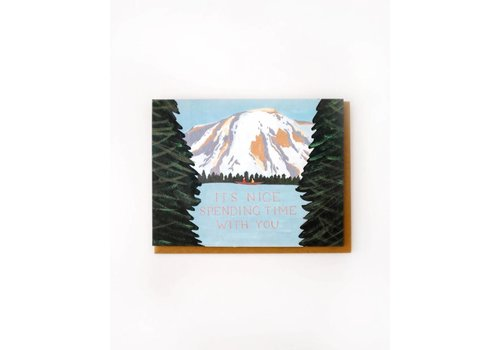 Small Adventure Nice Spending Time With You Card