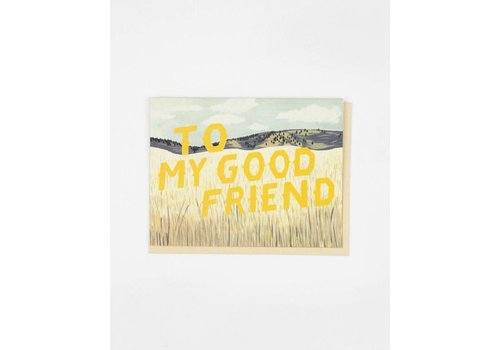 Small Adventure To My Good Friend Grasslands Card