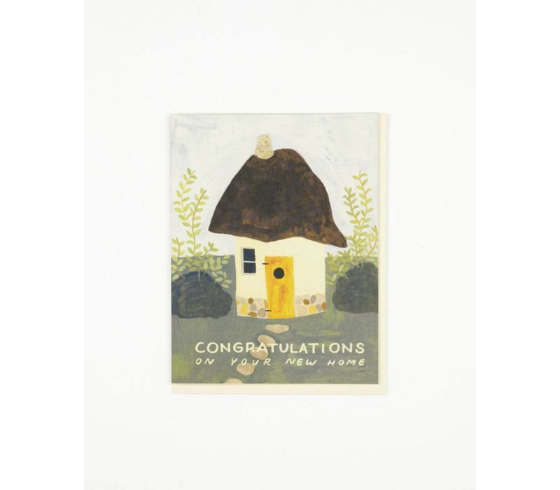 Cob House Congrats Card
