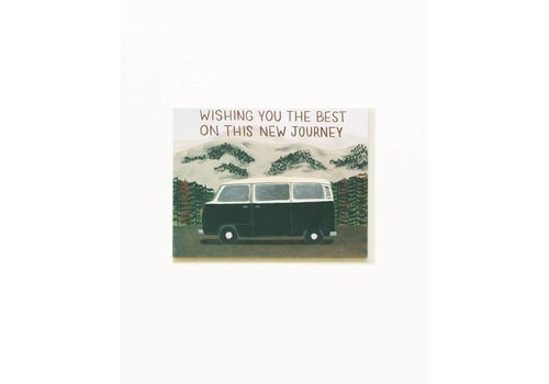 Small Adventure New Journey Van Card