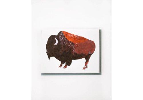Small Adventure Buffalo Everyday Card