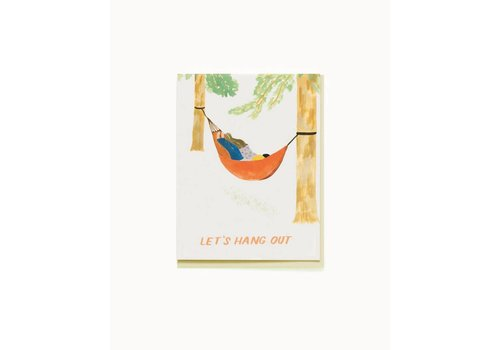 Small Adventure Hammock Hang Out Card