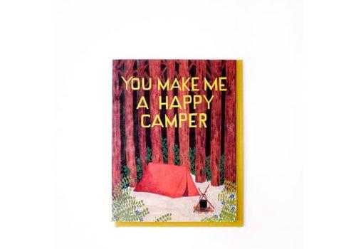 Small Adventure Happy Camper Card