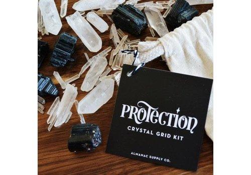 Almanac Supply Co Protection Crystal Grid Kit
