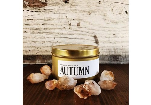 Almanac Supply Co Autumn Soy Candle Tin