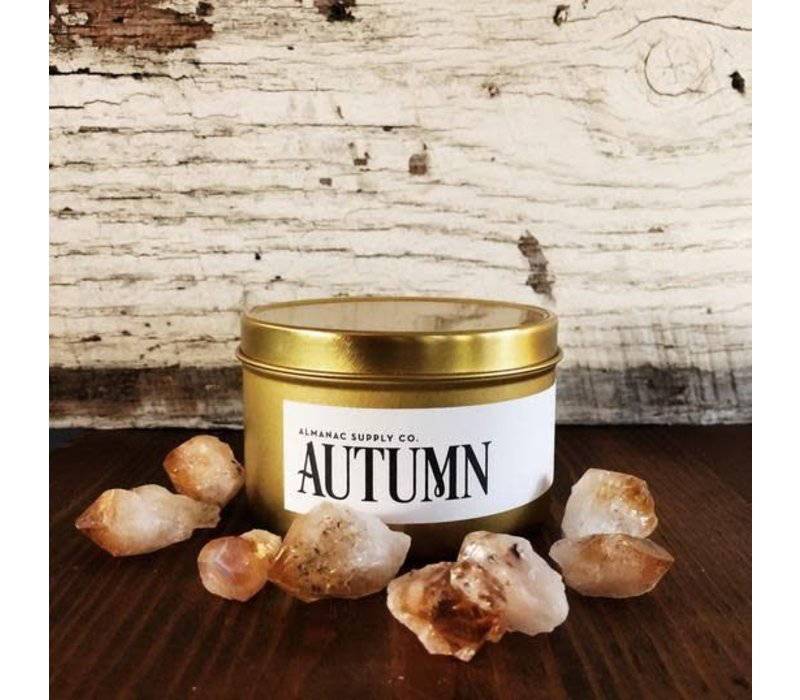 Autumn Soy Candle Tin