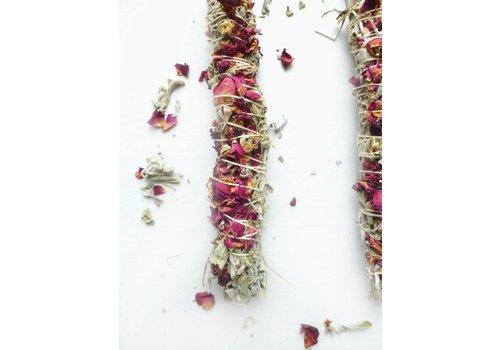 Broad Street Holy Smoke Smudge Stick - Grandmother's Sage & Roses