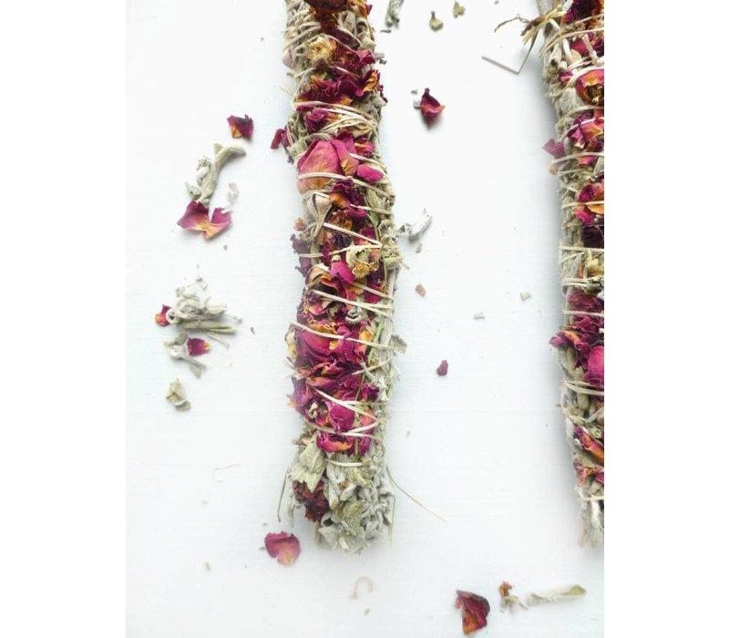 Holy Smoke Smudge Stick - Grandmother's Sage & Roses