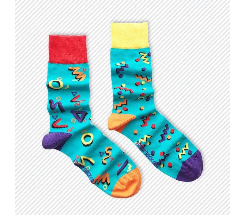 Growing Up 90s Mismatch Socks
