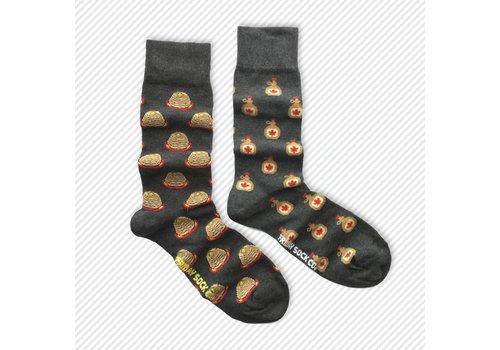 Friday Sock Co. Pancakes & Syrup Mismatch Socks