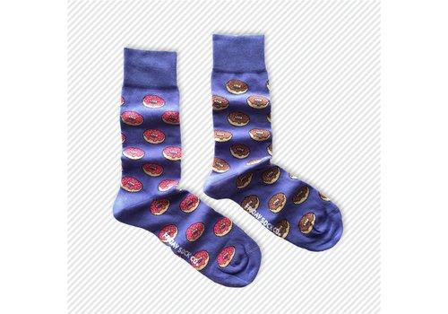 Friday Sock Co. Donuts Mismatch Socks