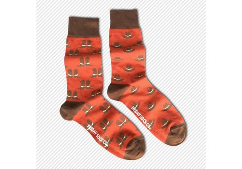 Friday Sock Co. Cowboy Boots & Hats Mismatch Socks