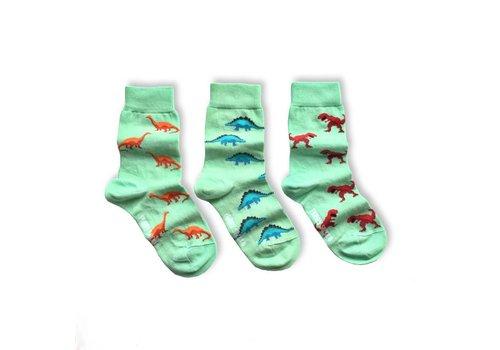 Friday Sock Co. Dinosaur Mismatch Kids Socks