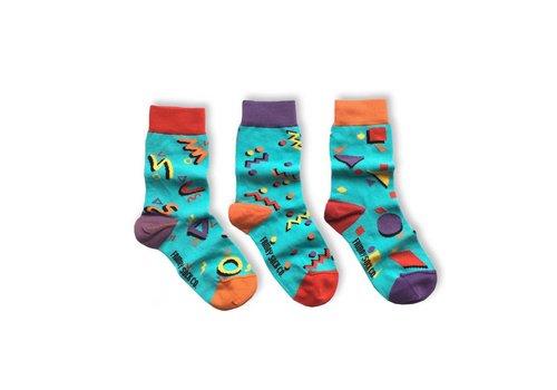 Friday Sock Co. Totally 80s Mismatch Kids Socks