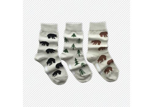 Friday Sock Co. Woods Mismatch Kids Socks