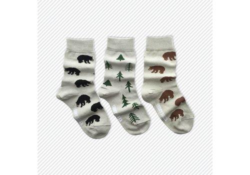 Friday Sock Co. Forest Mismatch Kids Socks