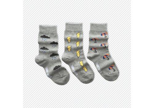 Friday Sock Co. Rainy Day Mismatch Kids Socks
