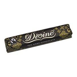 Divine Chocolate 70% Dark Chocolate Bar (1.5 oz)