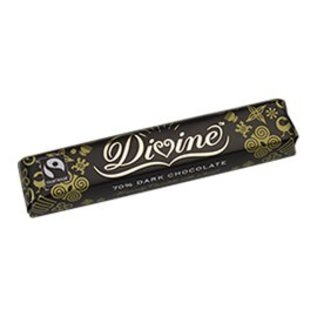 Divine Chocolate 70% Dark Chocolate Bar (1.5 oz)