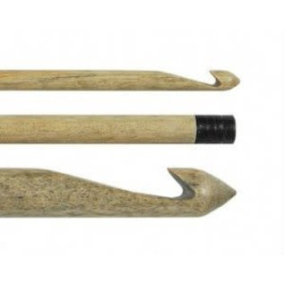 "Lykke Driftwood 6"" Wooden Crochet Hook US J10 / 6.00mm"