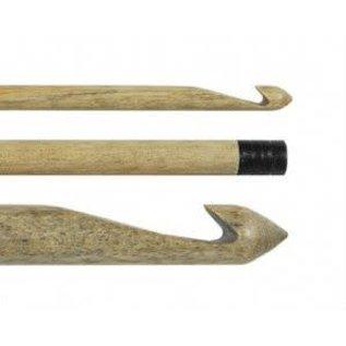 """Lykke Driftwood 6"""" Wooden Crochet Hook US I9 / 5.50mm"""