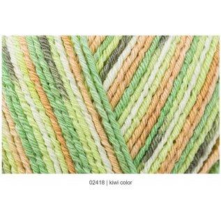Regia Regia Cotton Color Tutti Frutti #02418 Kiwi Skein