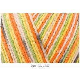 Regia Regia Cotton Color Tutti Frutti #02417 Papaya Skein