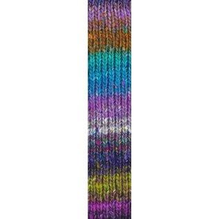 Noro Silk Garden Sock #411 Purples, Green, Grey